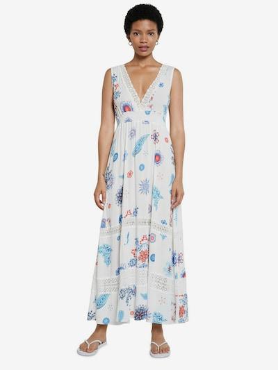 Desigual Beach dress 'TAHITI' in Mixed colours / White, View model
