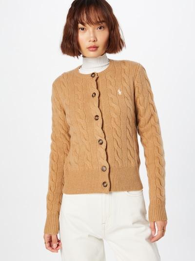Polo Ralph Lauren Cardigan in beige / hellbraun, Modelansicht