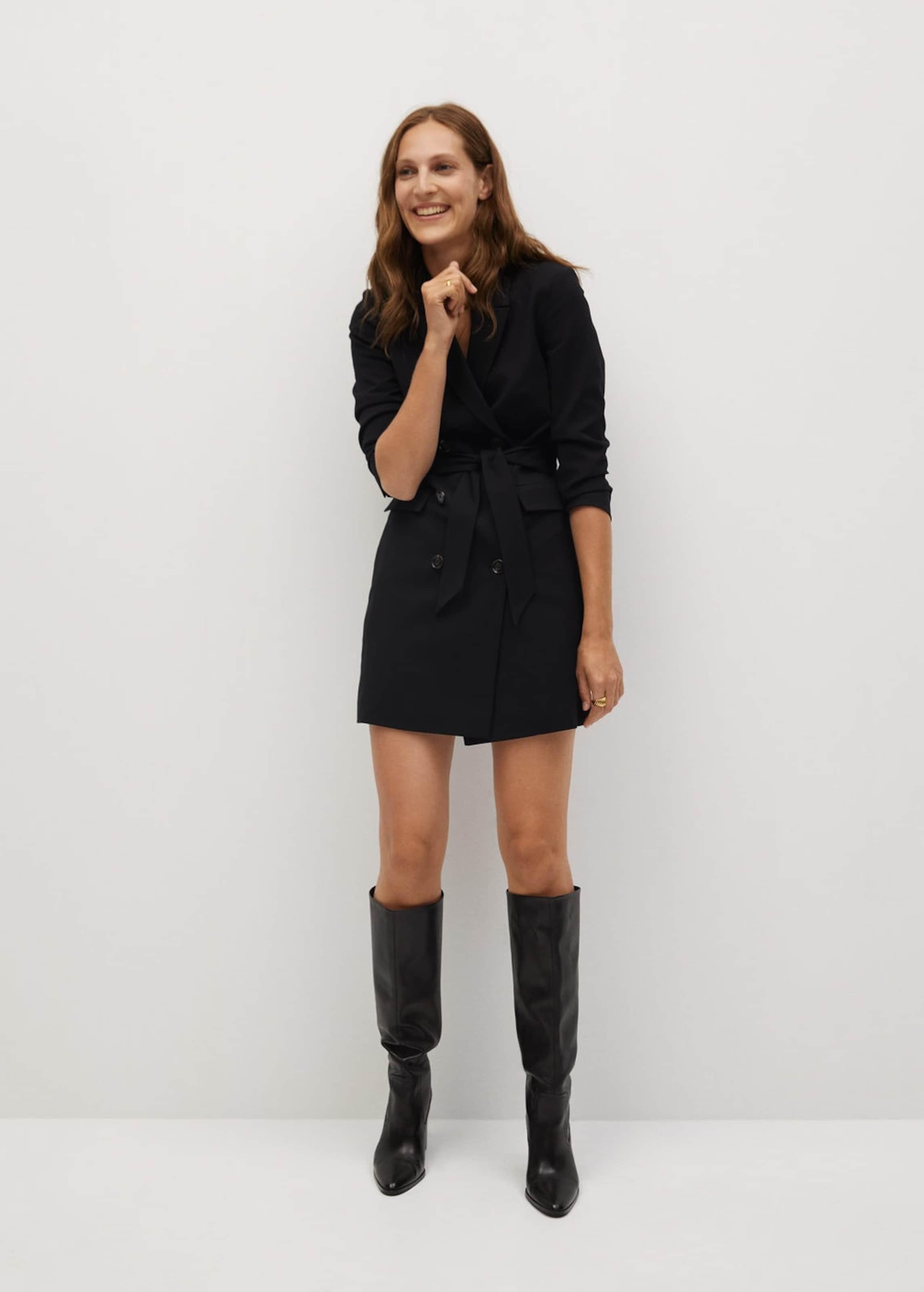 MANGO Kleid 'Blake1' in schwarz