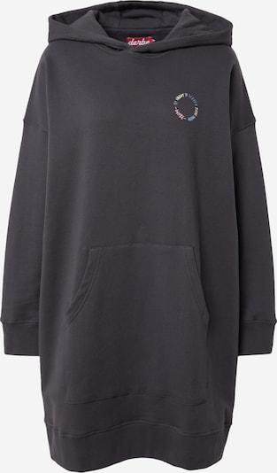 Derbe Kleid in rauchblau / pastellgelb / schwarz, Produktansicht