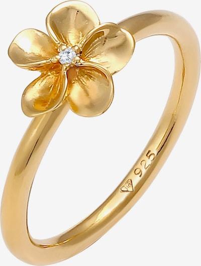 Nenalina Bague 'Blume' en or, Vue avec produit