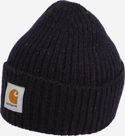 Carhartt WIP Cepure 'Anglistic', krāsa - tumši zils / jauktu krāsu, Preces skats