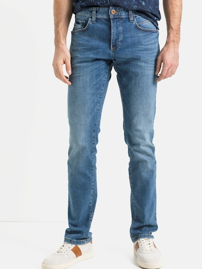 CAMEL ACTIVE Jeans 'Houston' in blue denim, Modelansicht