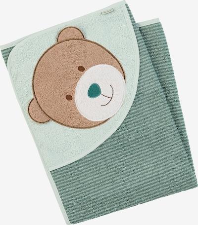 STERNTALER Handtuch in blau / grün, Produktansicht