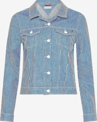 TOMMY HILFIGER Jacke in blau / weiß, Produktansicht