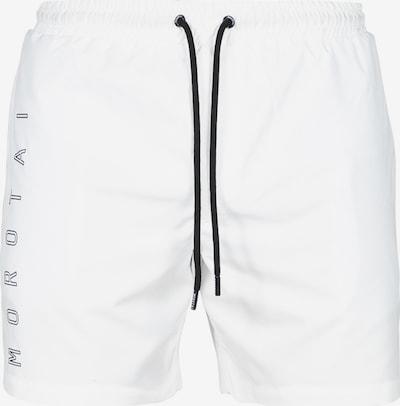 MOROTAI Sporthose ' Block Print Swim Shorts ' in weiß, Produktansicht