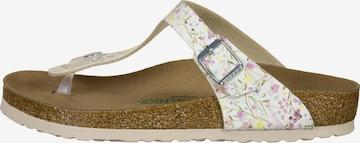 BIRKENSTOCK T-Bar Sandals in White