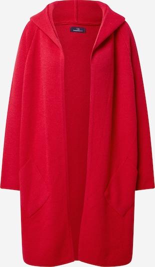 Zwillingsherz Плетена жилетка 'Annabell' в червено, Преглед на продукта