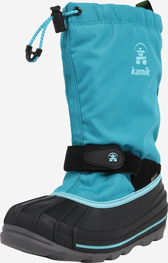 Kamik Boots 'Waterbug' in aqua / black, Item view