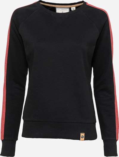 Fli Papigu Sweatshirt 'Mary Jane Hase' in schwarz, Produktansicht