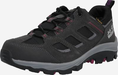 JACK WOLFSKIN Lage schoen 'VOJO' in de kleur Donkergrijs / Zwart, Productweergave