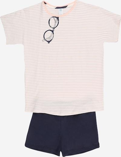 Pijamale SANETTA pe navy / mov deschis / roz / alb, Vizualizare produs