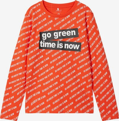 NAME IT Sweatshirt in dunkelorange, Produktansicht
