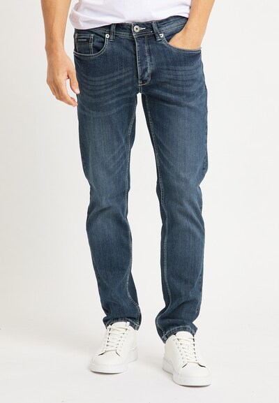 BRUNO BANANI Jeans in blue denim, Modelansicht
