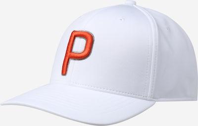 Berretto sportivo PUMA di colore arancione / bianco, Visualizzazione prodotti