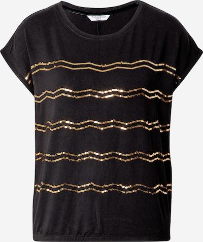 ZABAIONE Shirt 'Miranda' in de kleur Goud / Zwart, Productweergave