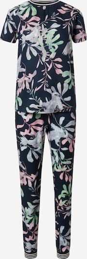 ESOTIQ Pyjama 'EMY' värissä vaaleansininen / tummansininen / vaaleanvihreä / vaalea pinkki, Tuotenäkymä