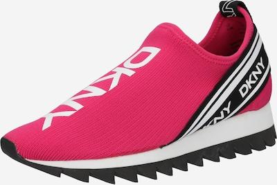 DKNY Ниски сникърси 'ABBI' в тъмнорозово / черно / бяло, Преглед на продукта