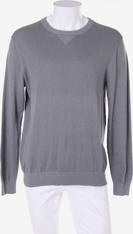 MANGO Pullover in L in Grau