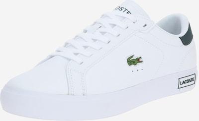 Sneaker low 'POWERCOURT' LACOSTE pe verde închis / alb, Vizualizare produs