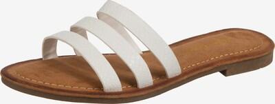 SuperCracks Pantolette  'Yfke' in weiß, Produktansicht