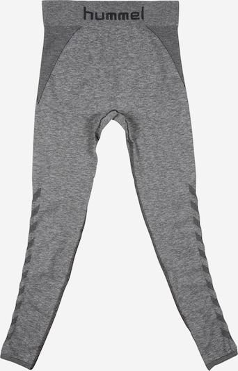 Sportinės kelnės 'AVA' iš Hummel , spalva - pilka / juoda: Vaizdas iš priekio