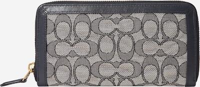 COACH Portemonnaie in navy / weiß, Produktansicht