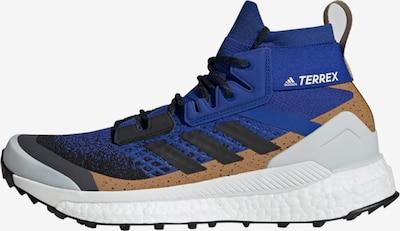 adidas Terrex Outdoorschuh 'TERREX Free Hiker Primeblue' in kobaltblau / braun / schwarz, Produktansicht