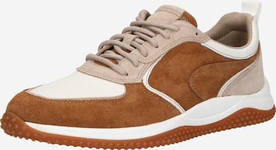 CLARKS Sneaker 'Puxton' in braun / weiß, Produktansicht