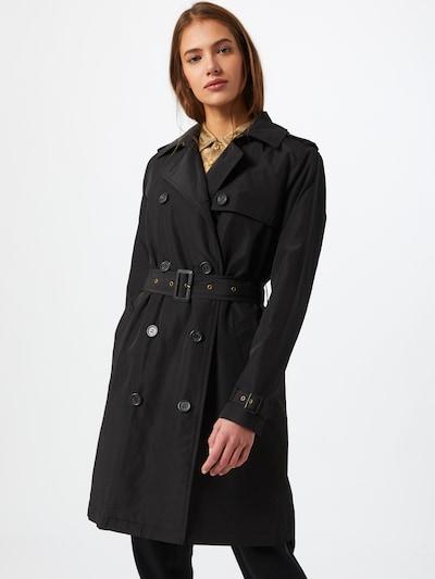 Lauren Ralph Lauren Manteau mi-saison en noir, Vue avec modèle