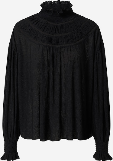 EDITED Bluse 'Limette' in schwarz, Produktansicht