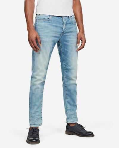 G-Star RAW Jeans 'G-Bleid' in de kleur Lichtblauw, Modelweergave