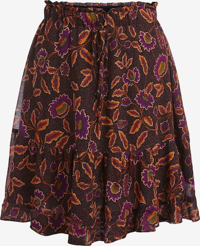SET Skirt in dark purple / orange / black, Item view