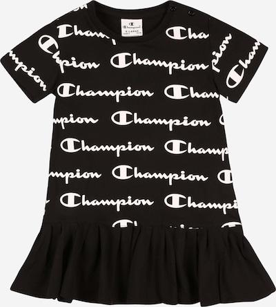 Champion Authentic Athletic Apparel Jurk in de kleur Zwart / Wit, Productweergave