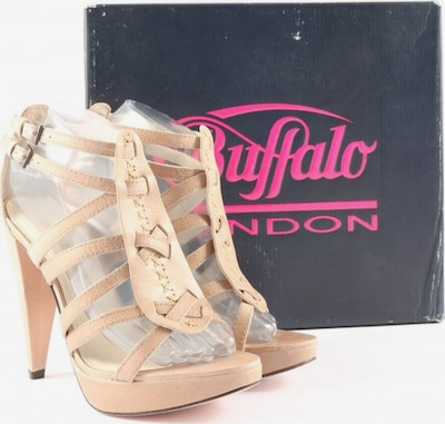 Buffalo London High Heel Sandaletten in 39 in creme, Produktansicht