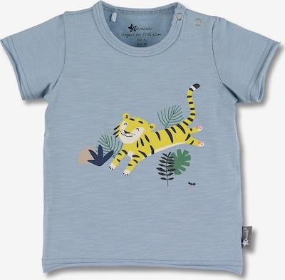 STERNTALER Shirt in navy / taubenblau / gelb / grün / weiß, Produktansicht