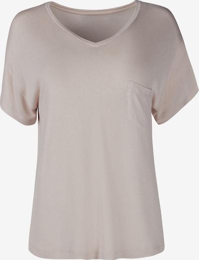 HUBER T-Shirt 'hautNAhTUR night' in beige, Produktansicht