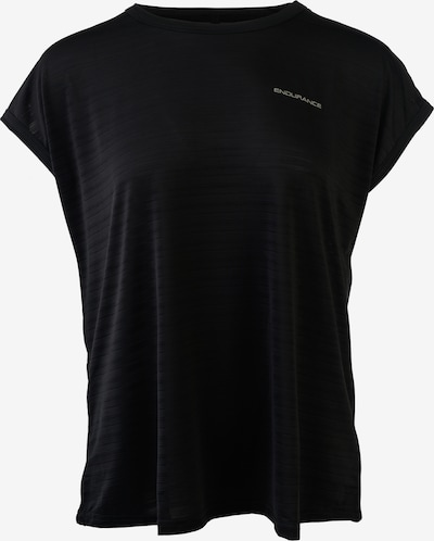 ENDURANCE Funktionsshirt Drego in schwarz: Frontalansicht
