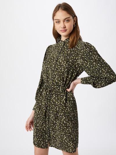 JACQUELINE de YONG Shirt dress in light green / dark green / black / white, View model
