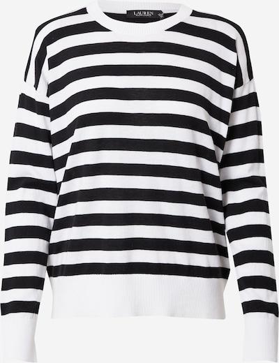 Tricou Lauren Ralph Lauren pe negru / alb, Vizualizare produs