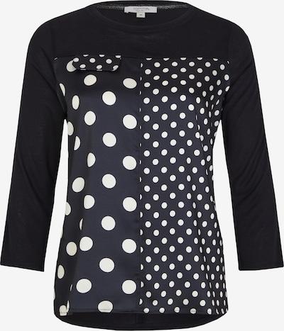 Ci comma casual identity Shirt in schwarz / weiß, Produktansicht