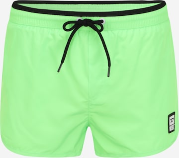 Shorts de bain DIESEL en vert