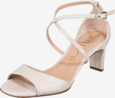 UNISA Sandale in offwhite, Produktansicht