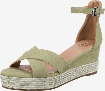 BULLBOXER Sandale in oliv, Produktansicht