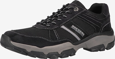 Dockers by Gerli Chaussure de sport à lacets en noir, Vue avec produit