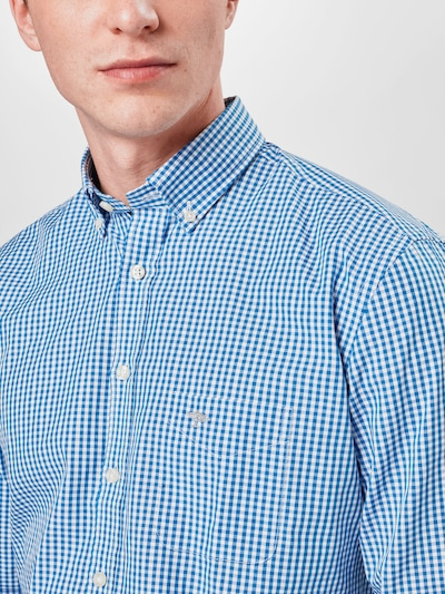 FYNCH-HATTON Chemise 'Summer' en bleu / bleu clair, Vue avec produit