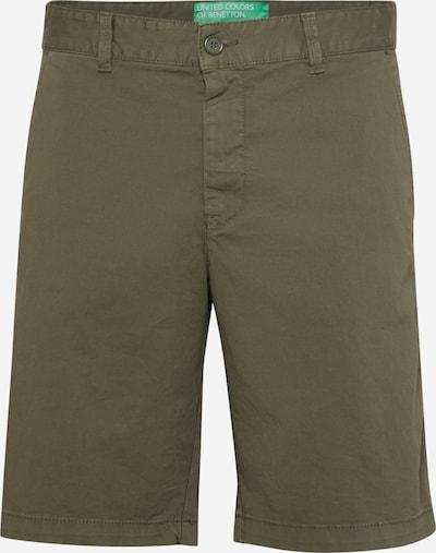 UNITED COLORS OF BENETTON Hose in khaki, Produktansicht