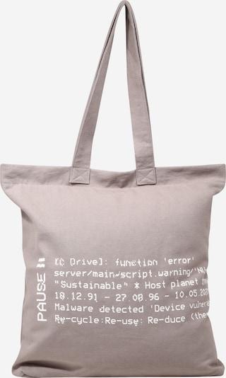 NU-IN Shopper in grau / weiß, Produktansicht