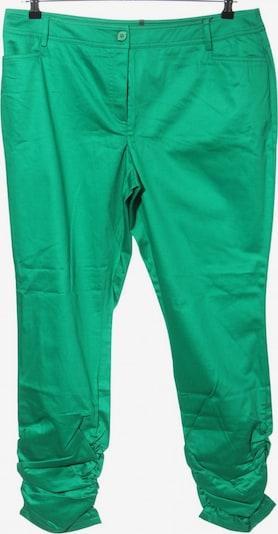 Mandarin Stoffhose in XXXL in grün, Produktansicht