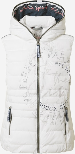Soccx Vest in grey / white, Item view